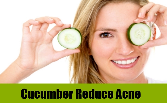 Cucumber Reduce Acne