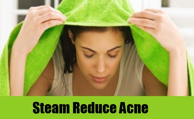Steam Reduce Acne