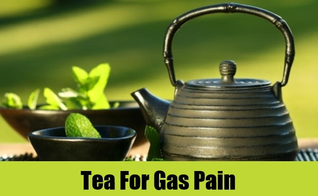 Tea For Gas Pain