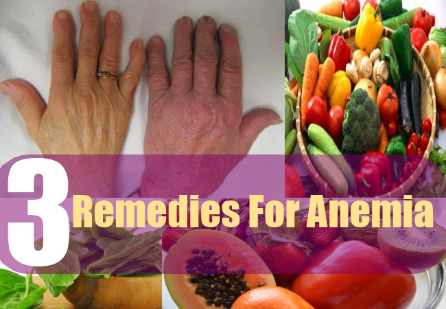 3 Remedies For Anemia