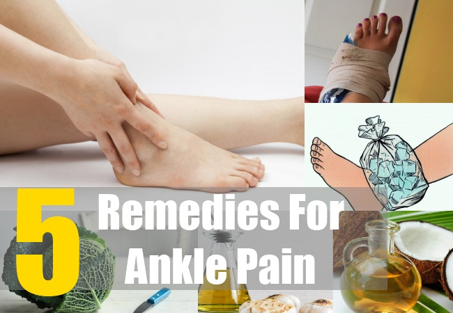 5 Remedies For Ankle Pain