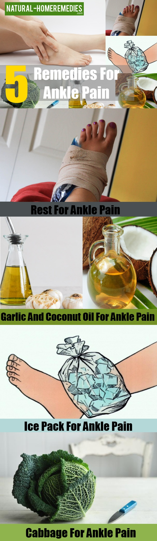 Remedies For Ankle Pain