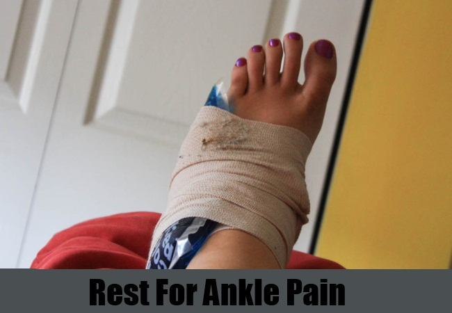 Rest For Ankle Pain