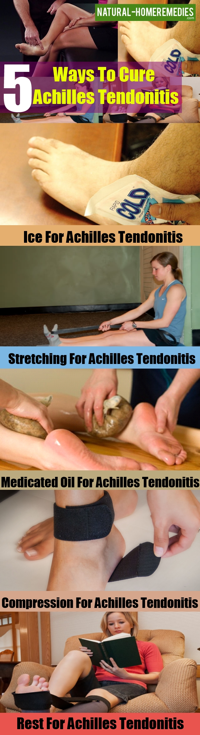 Ways To Cure Achilles Tendonitis