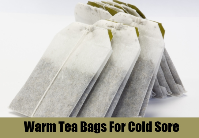 Warm Tea Bags For Cold Sore