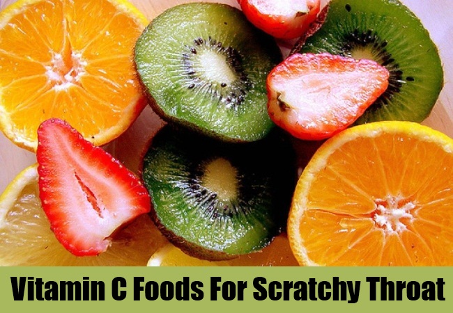 Vitamin C Foods For Scratchy Throat