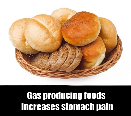 Gas producing food
