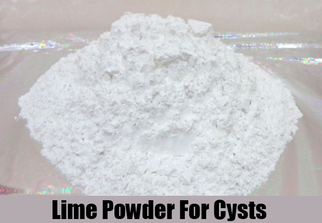 Lime Powder For Cysts