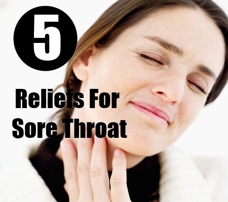 Reliefs For Sore throat