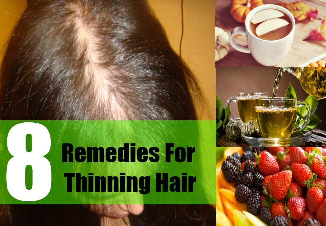 8 Remedies For Thinning Hair