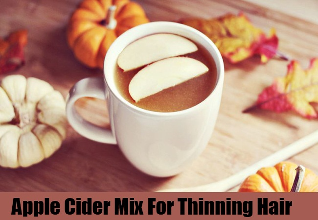 Apple Cider Mix For Thinning Hair