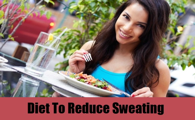 Diet To Reduce Sweating