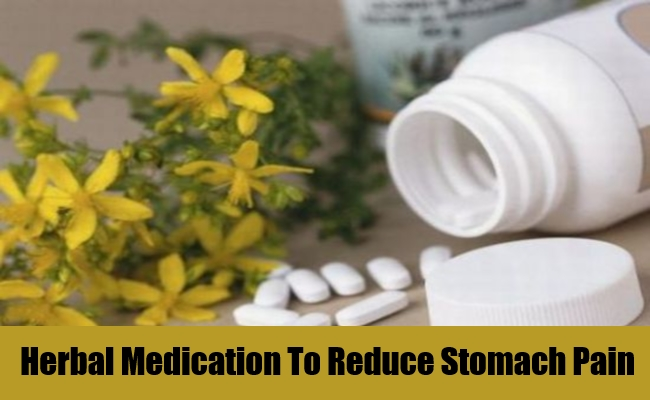 Herbal Medication To Reduce Stomach Pain