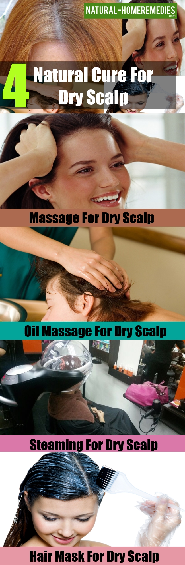 Natural Cure For Dry Scalp