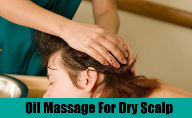 Oil Massage For Dry Scalp