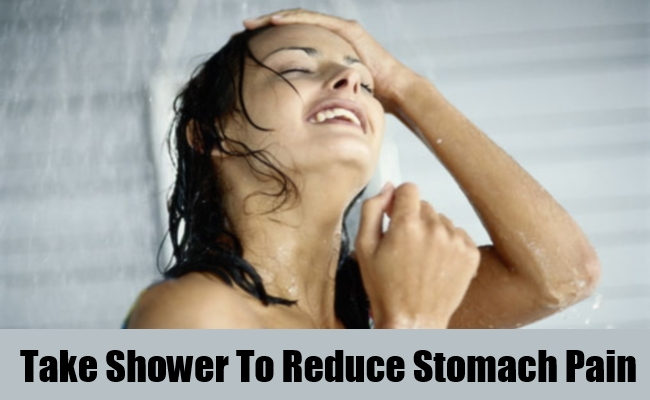 Take Shower To Reduce Stomach Pain