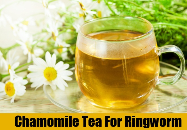 Chamomile Tea For Ringworm
