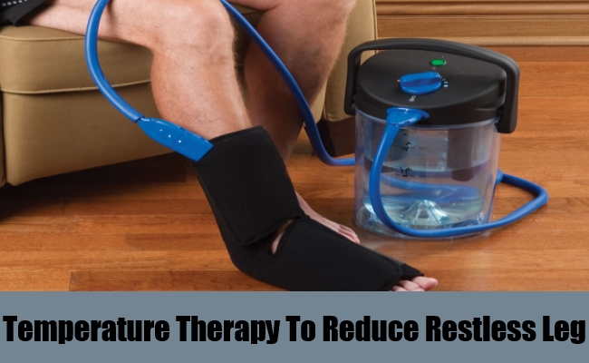 Temperature Therapy To Reduce Restless Leg