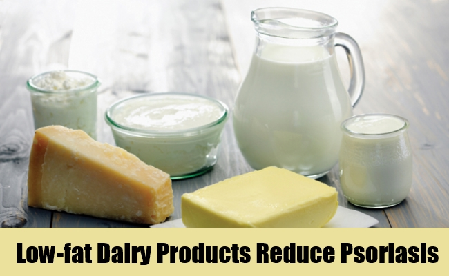 Low-fat Dairy Products Reduce Psoriasis