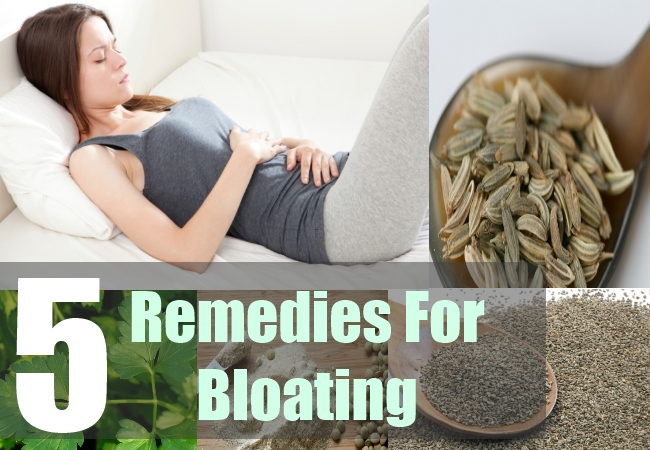5 Remedies For Bloating
