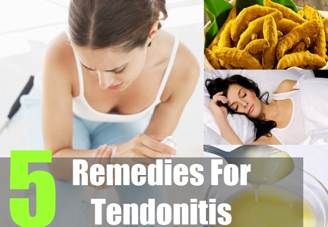 5 Remedies For Tendonitis