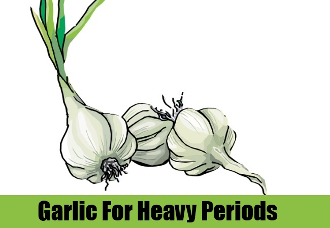 Garlic For Heavy Periods