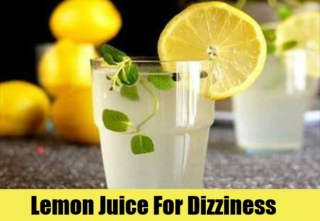 8 Home Remedies For Dizziness - Natural Treatments & Cure