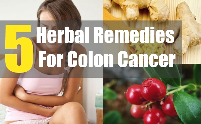 5 Herbal Remedies For Colon Cancer