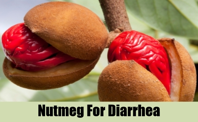Nutmeg For Diarrhea