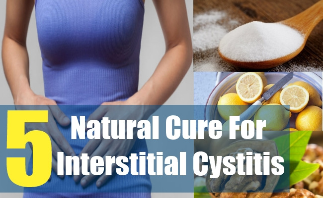 5 Natural Cure For Interstitial Cystitis