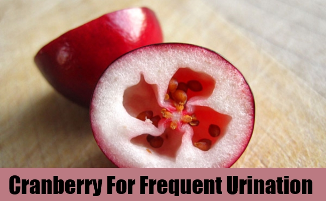 Cranberry For Frequent Urination