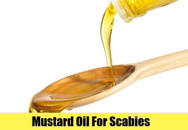 Mustard Oil For Scabies