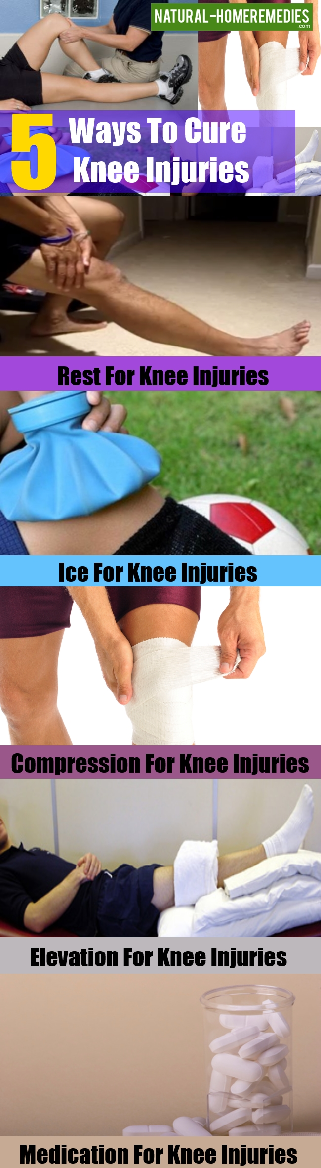 Ways To Cure Common Knee Injuries