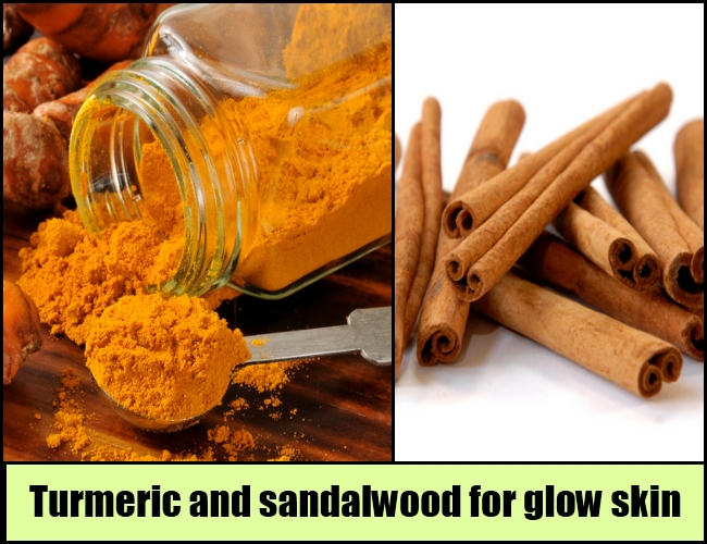 turmeric and sandalwood