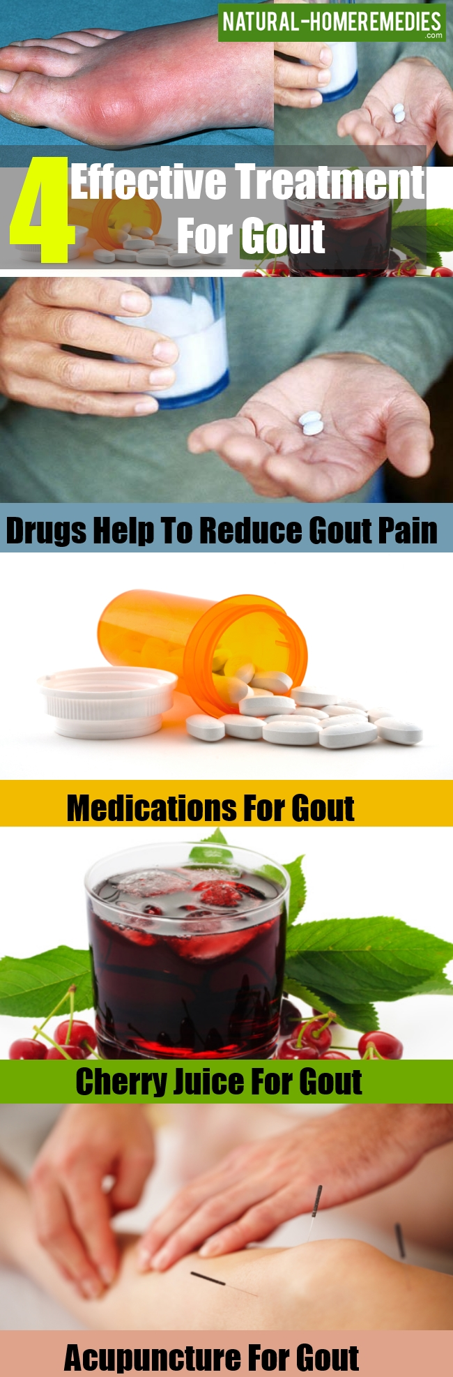 Effective Treatment For Gout