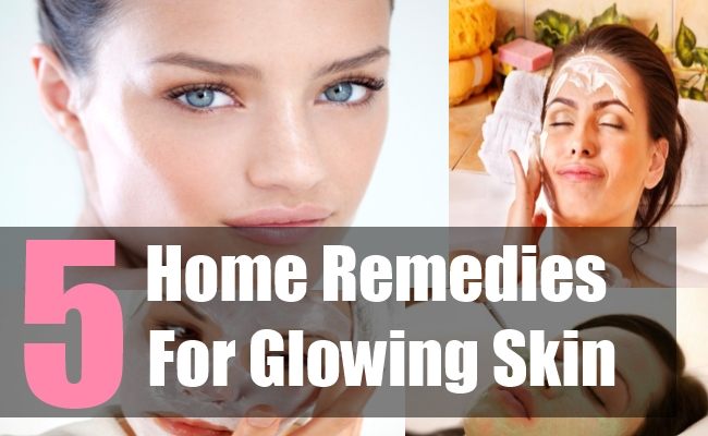 5 Home Remedies For Glowing Skin