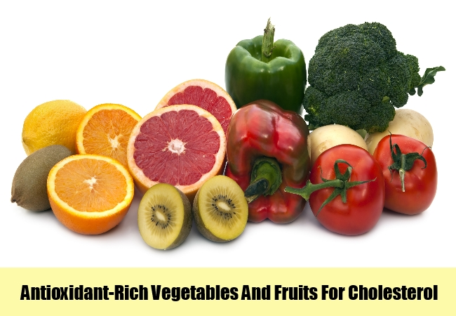 Antioxidant-Rich Vegetables And Fruits
