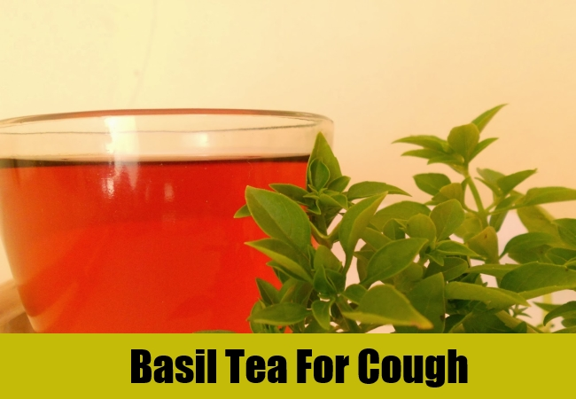 Basil Tea For Cough