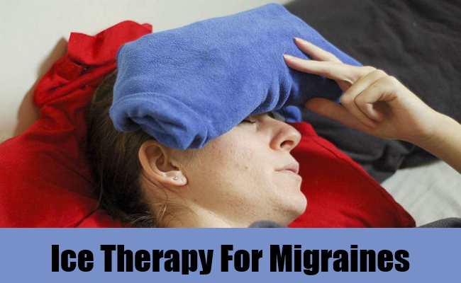 Ice Therapy For Migraines