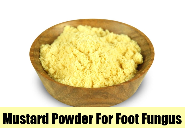 Mustard Powder For Foot Fungus
