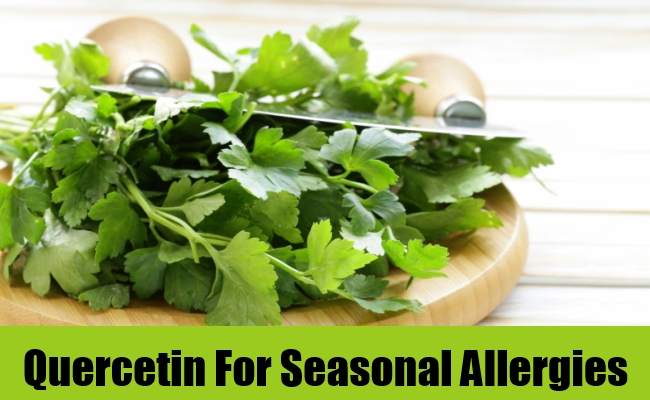 Quercetin For Seasonal Allergies