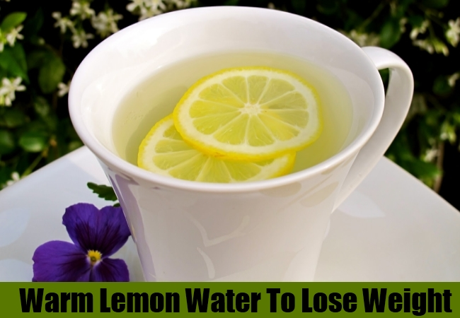 Warm Lemon Water To Lose Weight