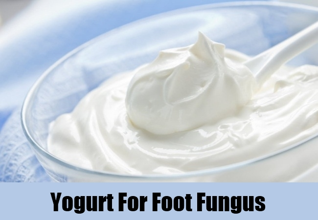 Yogurt For Foot Fungus