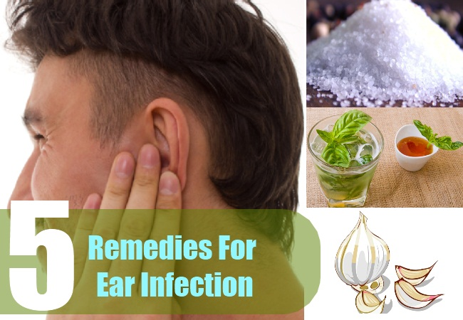 5 Remedies For Ear Infection