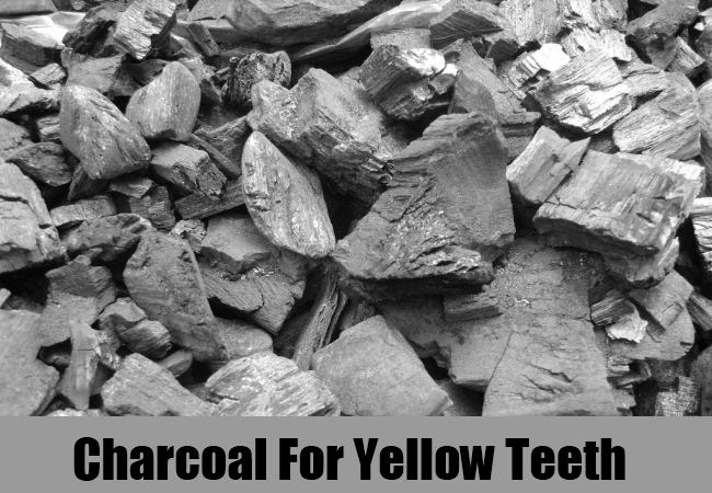 Charcoal For Yellow Teeth