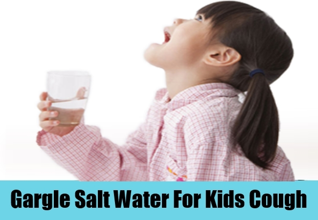 Gargle Salt Water For Kids Cough