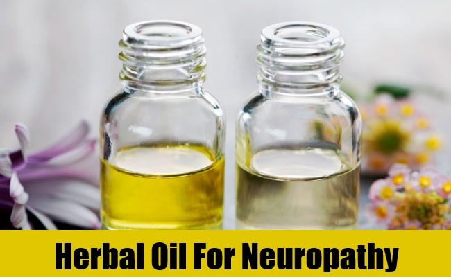 Herbal Oil For Neuropathy