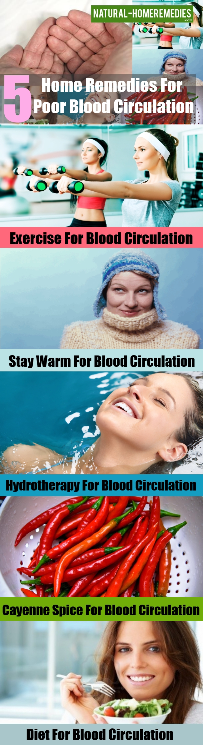 Home Remedies For Poor Blood Circulation