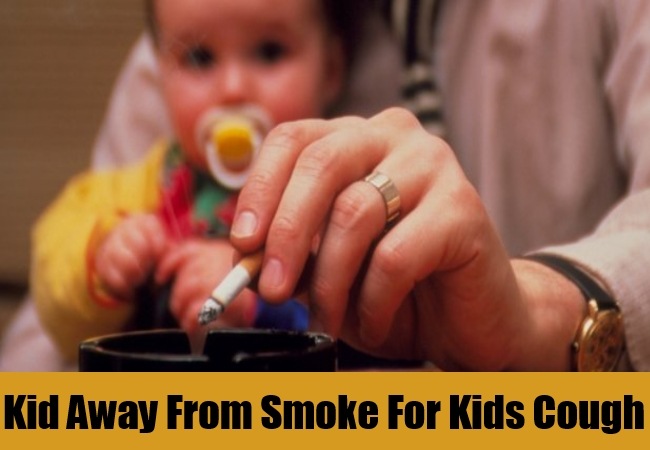 Kid Away From Smoke For Kids Cough