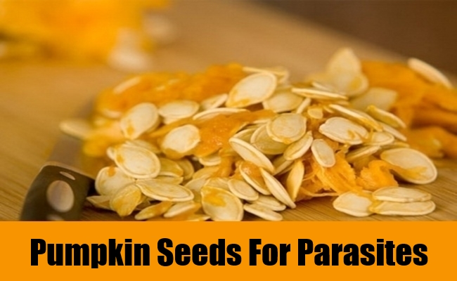 Pumpkin Seeds For Parasites